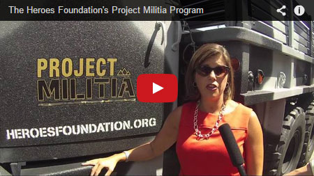 Heroes Foundations Project Militia Program Fundraising at Indiegogo.com
