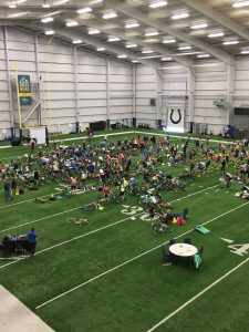 Indianapolis Colts and cancer heroes